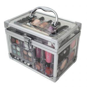 Acrylic Hottie Clear Makeup Travel Set