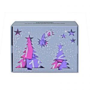 24 Piece Pink & Purple Advent Calendar